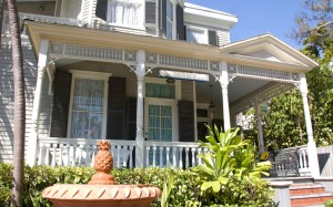 The Pilot House Guest House is one of many clothing optional hotels in Key West.