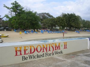 The Hedonism II Resort offers a nude pool and beach.