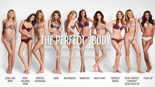 The perfect body is the one you have. Not the one the media or brands push on you.