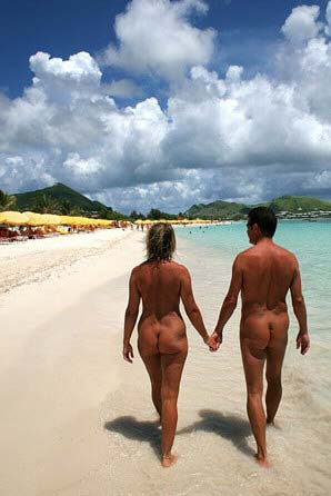 Mindy naked in the caribes