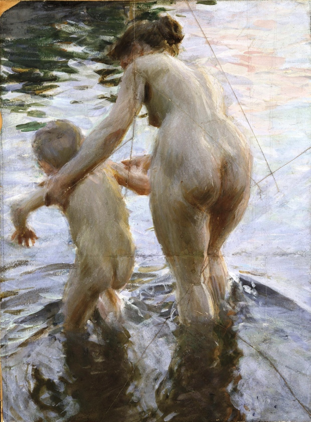 Une premiere by Anders Zorn (1888)