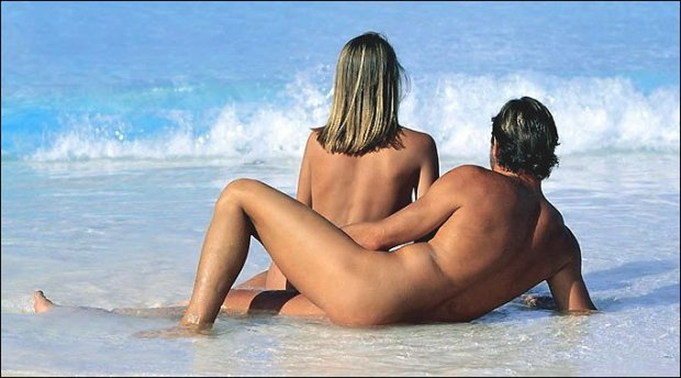 Nude-Beach Couple